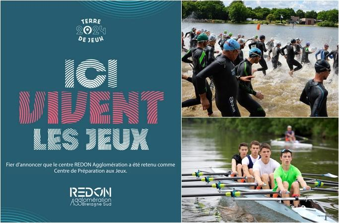 coureurs triathlon, course d'aviron